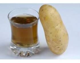 Лікувальні властивості картопляного соку фото