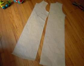 Літні сарафани своїми руками: викрійки, інструкція фото