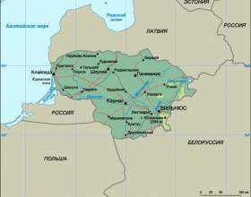 Литва - відпочинок, достопрімечтальності, погода, кухня, тури, фото, карта фото