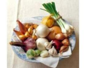 Цибуля ріпчаста - джерело вітамінів фото