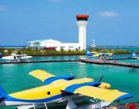 Мальдіви. Аеропорт імені ібрагіма насиров. фото