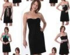 Маленков чорне плаття: кращі моделі фото