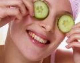 Живильні маски для шкіри навколо очей фото