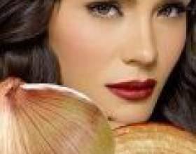 Маски для волосся з лука фото