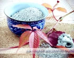 Маски з блакитної глини фото