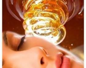 Медове очищення шкіри обличчя фото