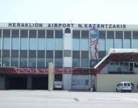 Міжнародні та місцевий аеропорт, крит, греція фото
