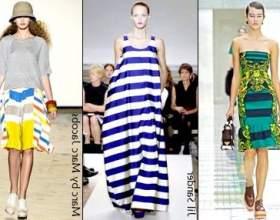 Мода весна-літо 2011. Смугастий рейс фото