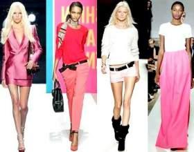 Мода весна-літо 2011. У рожевому кольорі фото