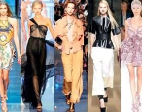 Мода весна-літо 2012. Креативні ідеї фото