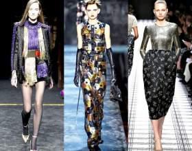 Мода весна-літо 2016. Блискучий вихід фото