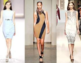 Модні сукні весна-літо 2012 фото