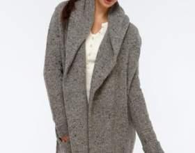 Модний тренд - в'язане пальто фото