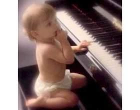 Музичний розвиток дитини фото