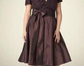 Найбільш привабливі вечірні сукні для повних дам фото