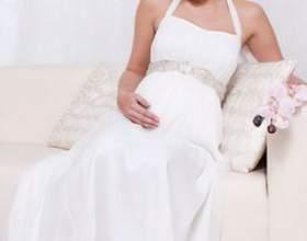 Весільна сукня для вагітної нареченої фото