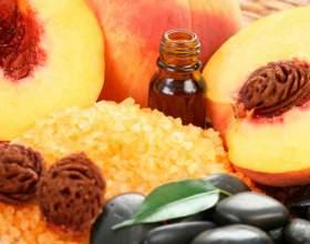Незамінний персикове масло фото