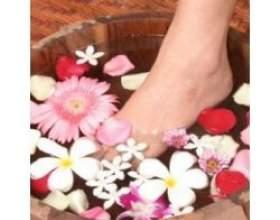 Ванни для ніг від втоми ніг з народної медицини фото
