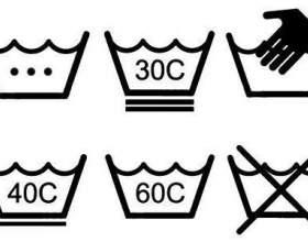 Позначення на одязі вимог до догляду: вчимо абетку спеціальних символів фото