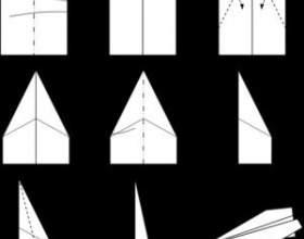 Орігамі-літаки: поради по виготовленню та схеми фото