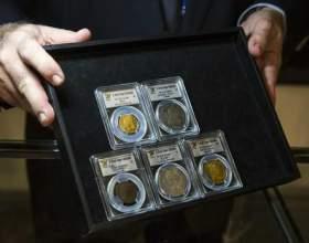 Пам'ятні та інвестиційні монети. Золоті інвестиційні монети фото