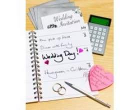 План підготовки до весілля фото
