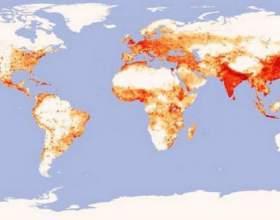Щільність населення росії. Щільність населення країн світу фото