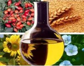 Корисні властивості рослинних масел фото