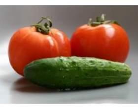 Користь огірків і помідорів для краси і здоров'я фото