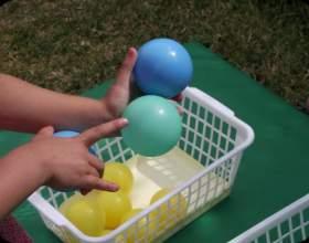 Популярні ігри з м'ячем для дітей різного віку фото