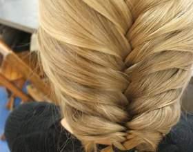 Зачіска «риб'ячий хвіст». Як плести? фото
