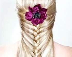 Зачіски з косами фото