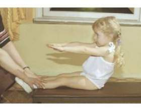 Розвиваючі вправи для дитини фото