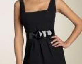 З чим носити маленьке чорне плаття фото