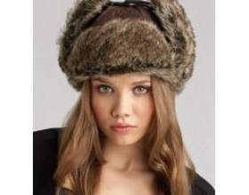 З чим носити хутряну шапку? фото