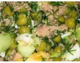 Салат з вареної риби фото