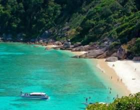 Сіміланскіе острова - одне з чудес таїланду фото