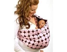 Слінг для новонародженого, який вибрати фото