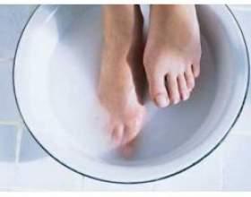 Сольові ванни для ніг фото