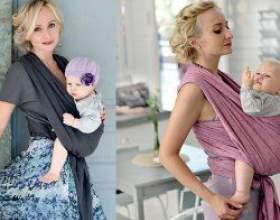 Сучасна мама: як носити слінг зі смаком? фото