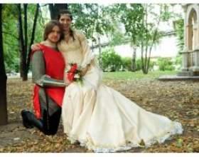 """""""Середньовічна"""" весілля в дусі лицарського турніру фото"""