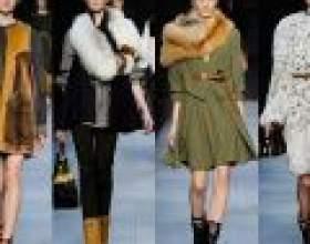 Хутряні деталі гардероба - модно і актуально фото