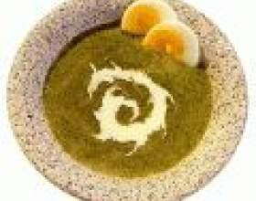 Суп зі шпинату: смачно і легко! фото