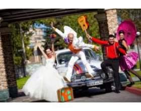 Весілля в стилі стиляг фото