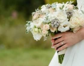 Весільні квіти: прикмети про букет нареченої фото