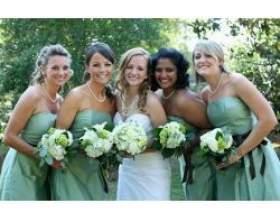 Весільні вбрання для подруг нареченої фото