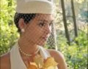 Весільні капелюшки з вуаллю: кому і навіщо? фото