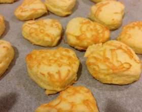 Сирне печиво: рецепт приготування фото