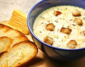 Сирний крем-суп: рецепт з фото фото