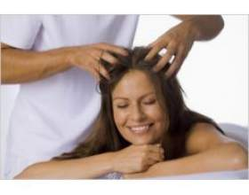 Техніка масажу голови фото